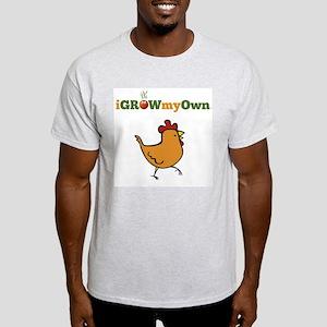 iGrowMyOwn: Chicken: Style 01A Light T-Shirt