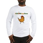 iGrowMyOwn: Chicken: Style 01A Long Sleeve T-Shirt