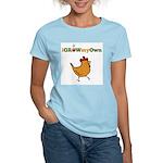 iGrowMyOwn: Chicken: Style 01A Women's Light T-Shi