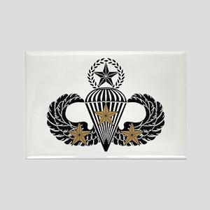 Combat Parachutist 3rd Awd Mast. B-W Rectangle Mag
