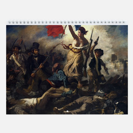 Paintings in the Louvre Wall Calendar