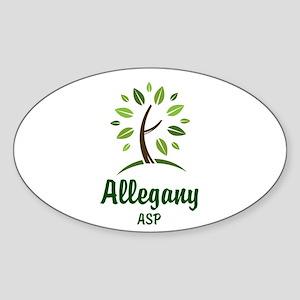 Allegany Tree Sticker (Oval)