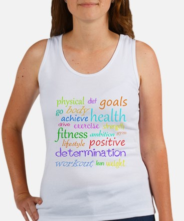 Fitness Collage Women's Tank Top