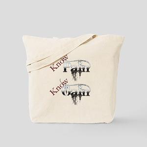 Know Gain Tote Bag