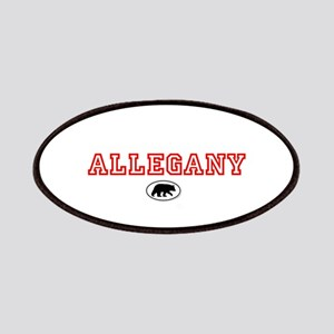Red Allegany Bear Patches