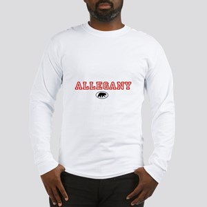 Red Allegany Bear Long Sleeve T-Shirt