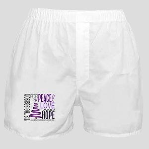 Christmas 1 Alzheimer's Disease Boxer Shorts