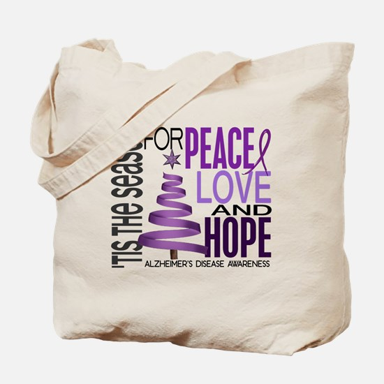 Christmas 1 Alzheimer's Disease Tote Bag