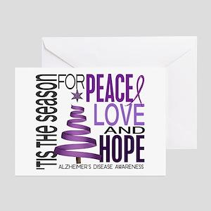 Christmas 1 Alzheimer's Disease Greeting Cards (Pk