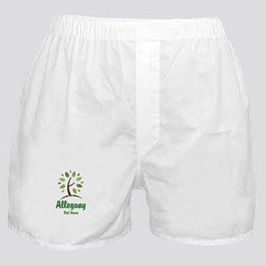 Red House Tree Boxer Shorts