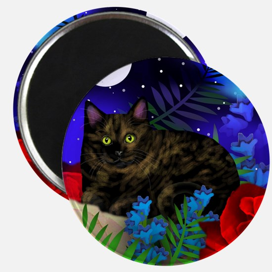 TORTOISESHELL CAT Magnet