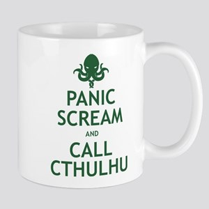Panic Scream and Call Cthulhu Mug