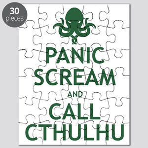 Panic Scream and Call Cthulhu Puzzle