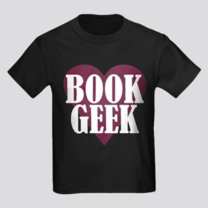 Book Geek Kids Dark T-Shirt