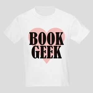 Book Geek Kids Light T-Shirt