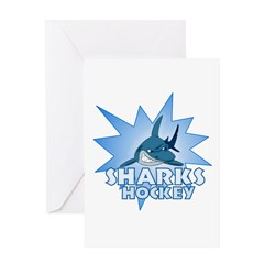 Sharks Team Greeting Card