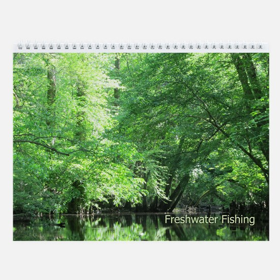 Freshwater Fishing Wall Calendar