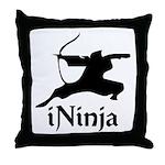iNinja Throw Pillow