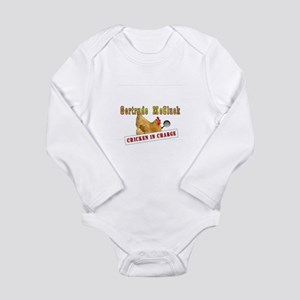 Gertrude McCluck Logo Long Sleeve Infant Bodysuit