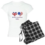 British American Baby Women's Light Pajamas