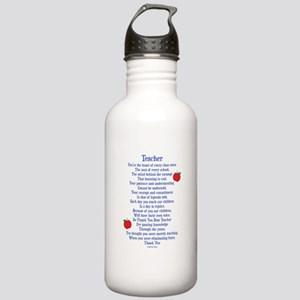 Teacher Thank You Stainless Water Bottle 1.0L