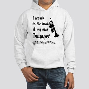 March to the Beat: Trumpet Hooded Sweatshirt