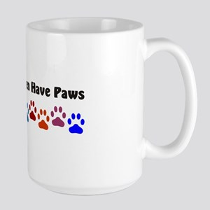 All My Children Have Paws 7 Large Mug