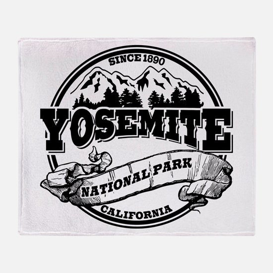 Yosemite Old Circle Throw Blanket