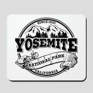 Yosemite Old Circle Mousepad