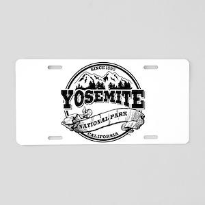 Yosemite Old Circle Aluminum License Plate