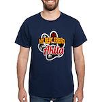 Akita Best Friend Dark T-Shirt