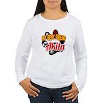 Akita Best Friend Women's Long Sleeve T-Shirt