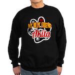 Akita Best Friend Sweatshirt (dark)