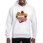 Akita Best Friend Hooded Sweatshirt