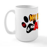 Akita Best Friend Large Mug