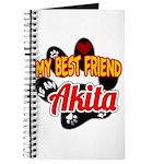 Akita Best Friend Journal