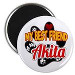 Akita Best Friend Magnet
