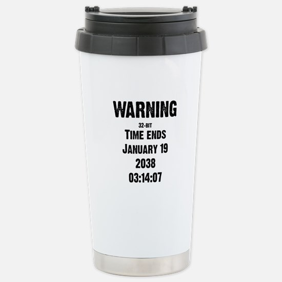 Unix End of Time Stainless Steel Travel Mug