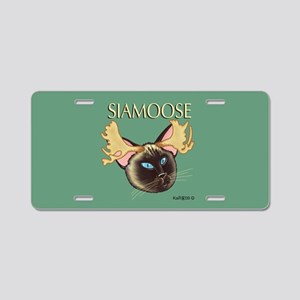 Siamoose Aluminum License Plate