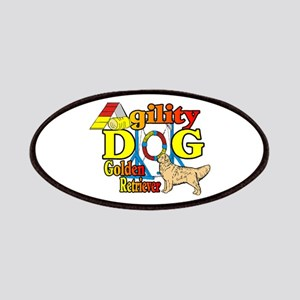 Golden Retriever Agility Patches