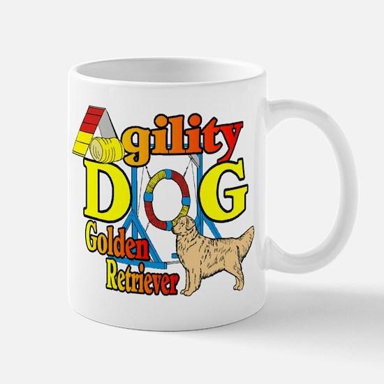 Golden Retriever Agility Mug
