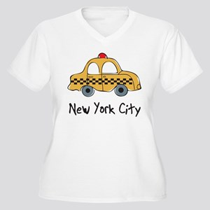 NYC_TAXI_02 Plus Size T-Shirt