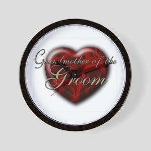 Grandmother of the Groom Wall Clock
