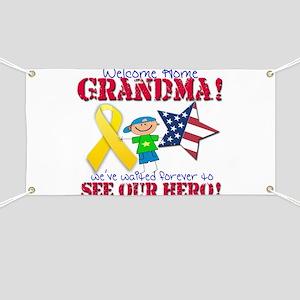 Welcome Home Grandma Banner