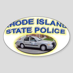 Rhode Island State Police Sticker