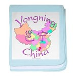 Yongning China baby blanket