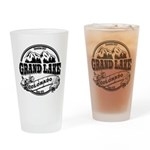 Grand Lake Old Circle Drinking Glass
