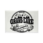 Grand Lake Old Circle Rectangle Magnet