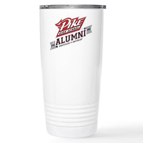 Pike Alumni Stainless Steel Travel Mug