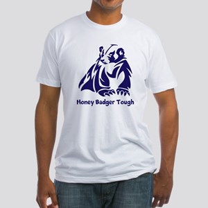 Honey Badger Tough Fitted T-Shirt